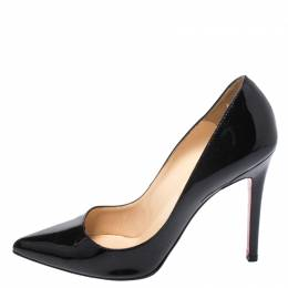 Christian Louboutin Black Patent Leather So Kate Pumps Size 37.5 269987