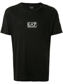 Ea7 футболка с маленьким логотипом 8NPT11PJNQZ