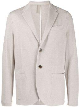 Harris Wharf London однобортный пиджак из пике C8P22PGE