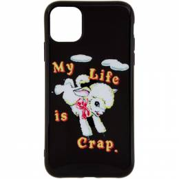 Marc Jacobs Black Magda Archer Edition My Life Is Crap iPhone 11 Case M0016056