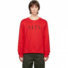 Valentino Red and Black VLTN Sweatshirt TV3MF10G3TV