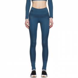 Adidas by Stella McCartney Blue Training Believe This Tights FK8863