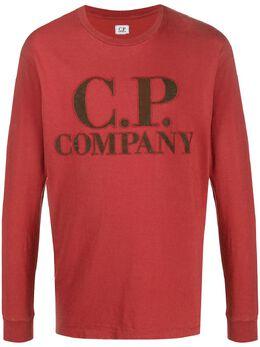 C.P. Company толстовка с вышитым логотипом 08CMTS326A005697G