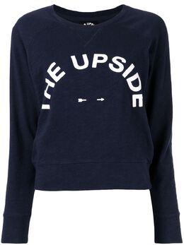 The Upside толстовка Horseshoe Bronte с логотипом USW419052