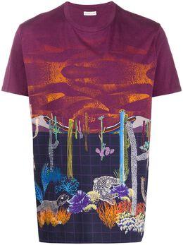 Etro футболка со сплошным принтом 1Y0204082