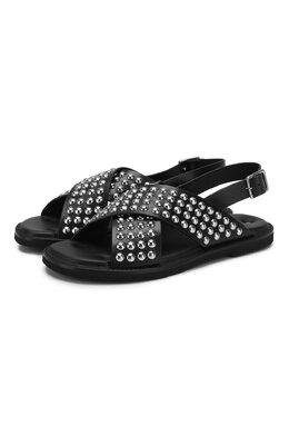 Кожаные сандалии Alexander McQueen 604271/WHRWB