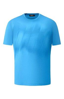 Хлопковая футболка Zilli MER-NT220-SHAD1/MC01