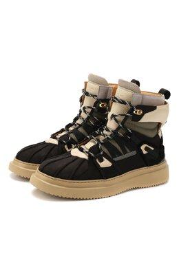 Кожаные ботинки Buscemi 420SM021TL07KA/M