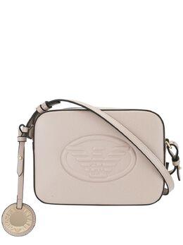 Emporio Armani каркасная сумка с тисненым логотипом Y3B092YH18A