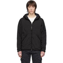 C.P. Company Black CR-L Medium Hooded Jacket 08CMOW044A-005660G