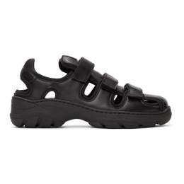 Martine Rose Black Hiking Sandals FMROMSPS109009