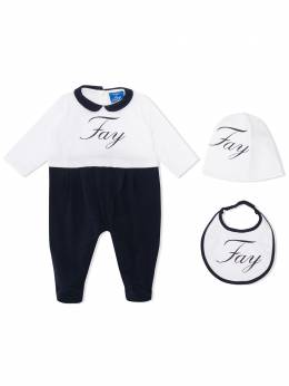 Fay Kids комплект для новорожденного с логотипом 5M0310MX070100BL