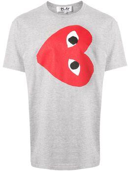 Comme Des Garcons Play футболка с принтом AZT264051