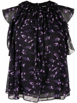 Temperley London блузка Ethel с оборками 20SETP51870
