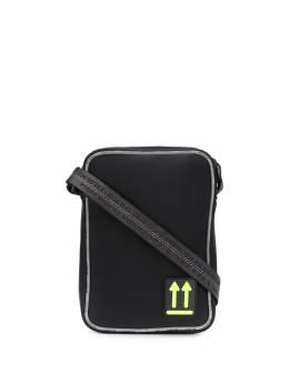 Off-White маленькая сумка-мессенджер с логотипом OMVN004R20A370011000