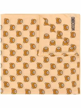 Moschino шарф с принтом Teddy 50111M5217