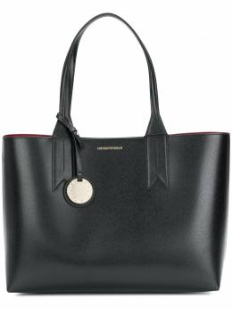 Emporio Armani large charm-detail tote Y3D081YH15A