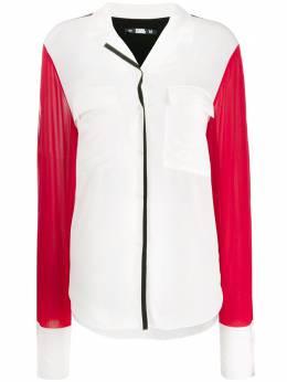 Karl Lagerfeld блузка Karl с принтом 201W1609195