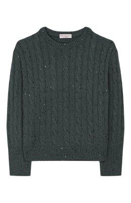 Кашемировый пуловер Brunello Cucinelli B73546000C