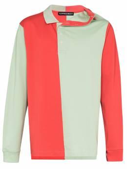 Y / Project рубашка-поло асимметричного кроя PO19S18