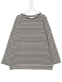 Douuod Kids расклешенная футболка в полоску TE111230