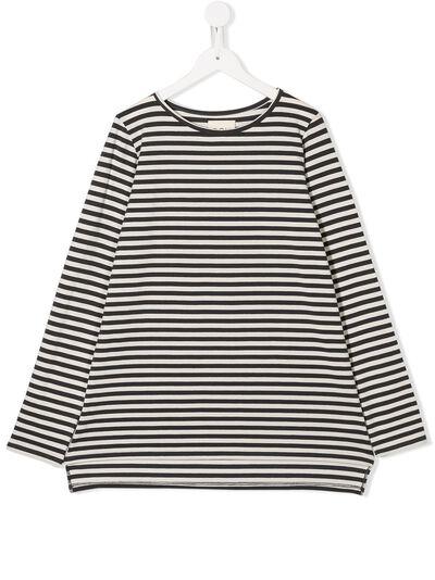Douuod Kids расклешенная футболка в полоску TE111230 - 1