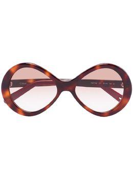 Chloe Eyewear солнцезащитные очки Bonnie Havana CE2743S