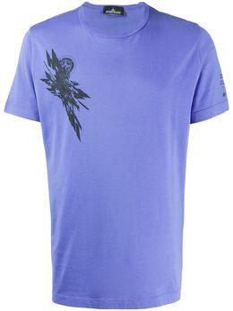 Stone Island Shadow Project футболка с принтом 721920110