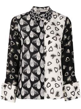 Alice + Olivia блузка с принтом CC911P03003