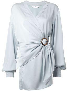 Rachel Gilbert блузка Karo с запахом 20FRG30174BLU