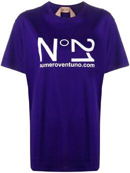 No. 21 футболка с логотипом 20EN2M0F0544157