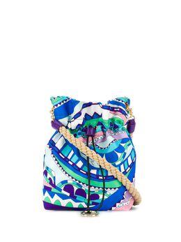 Emilio Pucci сумка через плечо Burle с принтом 0HSD360H280