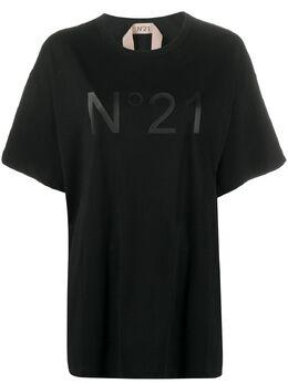 No. 21 футболка с логотипом 20EN2M0F0616314