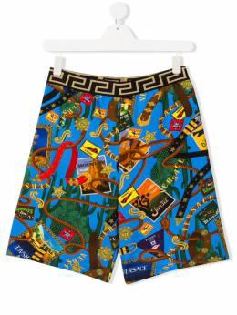 Young Versace плавки-шорты с принтом YD000184A232761