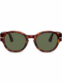 Persol солнцезащитные очки в круглой оправе PO3230S2431