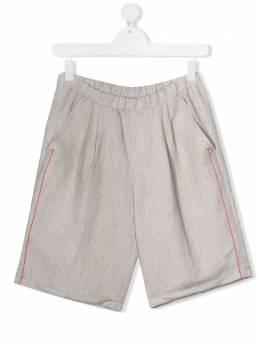 Dondup Kids шорты с контрастной строчкой BP263BDTY0063BXXX