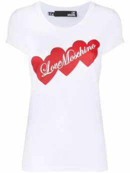 Love Moschino футболка с логотипом W4B195EE1698