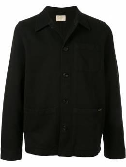 Nudie Jeans куртка-рубашка Barney Wroker с карманами 160676