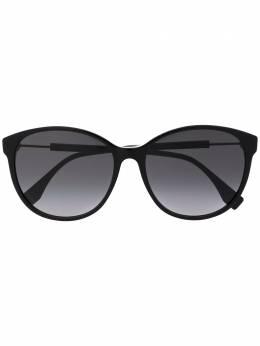 Fendi Eyewear солнцезащитные очки в круглой оправе FF0412S