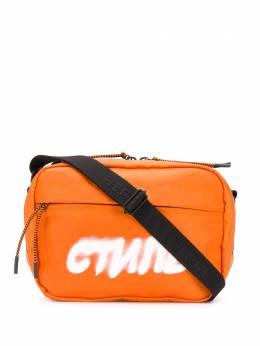 Heron Preston сумка с принтом 'Стиль' HMNA011S209430081901