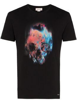 Alexander McQueen футболка с принтом 595650QOZ60