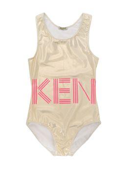 Kenzo Kids купальник с логотипом KQ38038