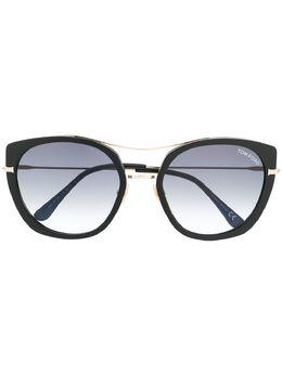 Tom Ford Eyewear солнцезащитные очки в оправе 'кошачий глаз' FT0760