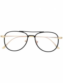 Tom Ford Eyewear bi-colour aviator glasses FT5666B