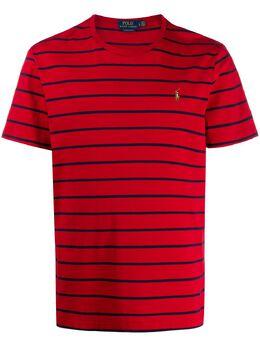 Ralph Lauren футболка с вышитым логотипом 710795177