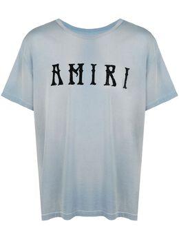 Amiri футболка с логотипом Y0M03434CJ