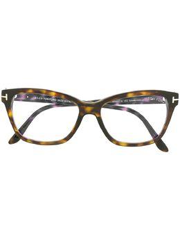 Tom Ford Eyewear очки в оправе 'кошачий глаз' FT5597B