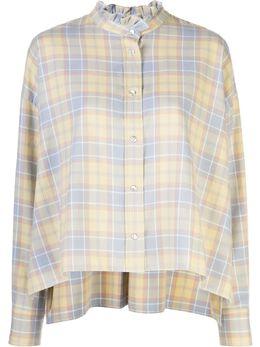 Isabel Marant Etoile блузка в клетку CH054420P064E