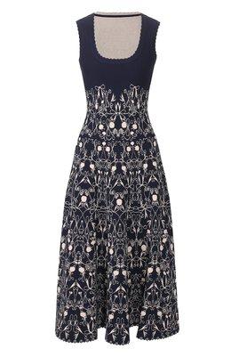 Платье из вискозы Alaia AS9RN35LM527