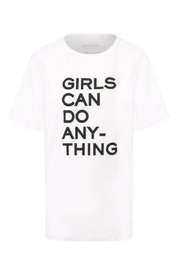 Хлопковая футболка Zadig & Voltaire PWGTR1801F